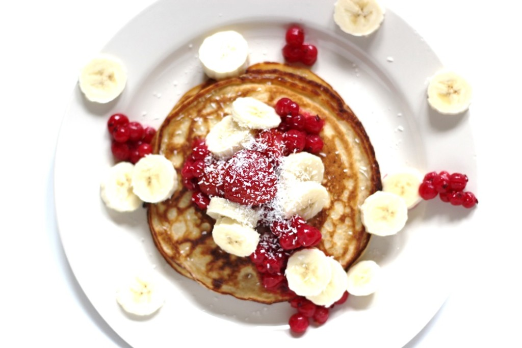 Food: Banana pancakes